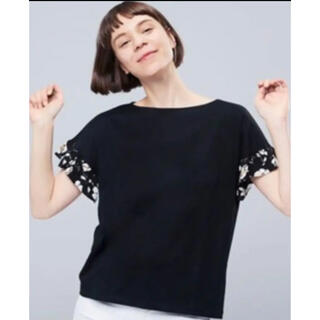 UNIQLO - 新品 ユニクロ スタジオサンダーソン 袖フリルTシャツ XL 黒