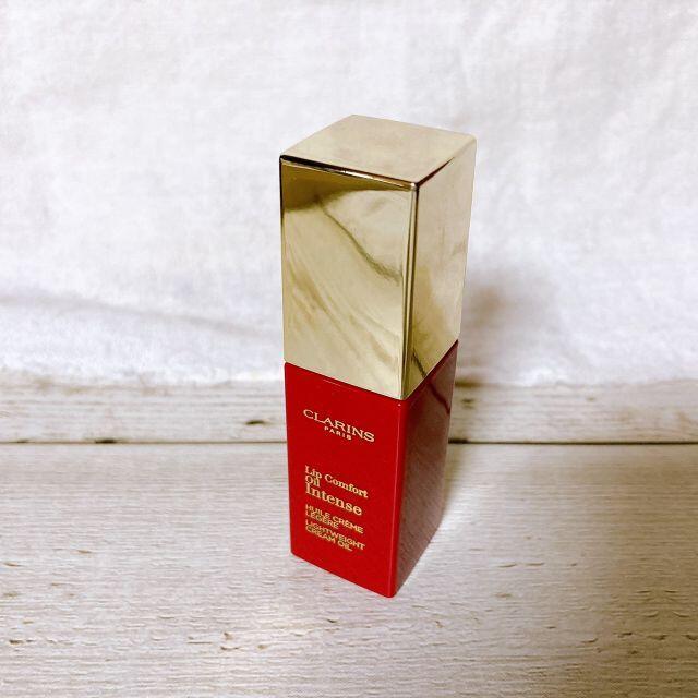 CLARINS(クラランス)のクラランス コンフォート リップオイル インテンス 04 ローズウッド コスメ/美容のベースメイク/化粧品(口紅)の商品写真