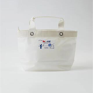 familiar - 芦屋モンテメール限定販売ファミリア×JIBコラボ トートバックM ホワイト