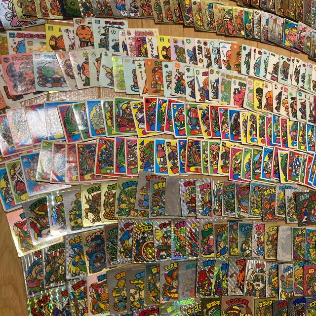 旧ビックリマンシール すくみ200枚以上、ヘッド100枚以上 エンタメ/ホビーのアニメグッズ(カード)の商品写真