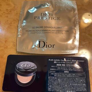 Dior - 新発売 ディオール クッションファンデとメイク落とし