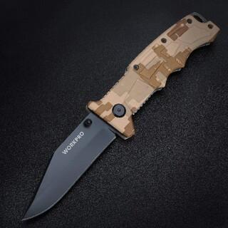 アウトドアナイフ 直刃 黒染め処理 実用的なナイフです