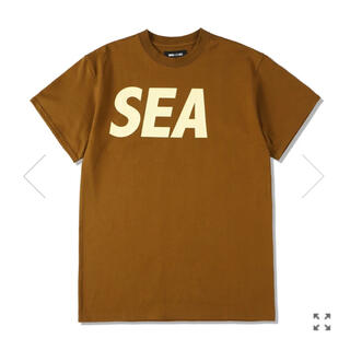 Ron Herman - WIND AND SEA S/S T-SHIRT BROWN-BEIGE