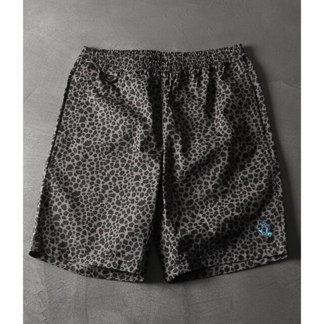 GRAMICCI(グラミチ)の完売 SANTA CRUZ/サンタクルーズ レオパード グラミチ ショートパンツ メンズのパンツ(ショートパンツ)の商品写真