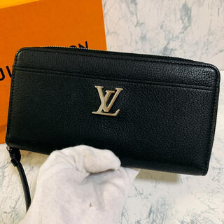LOUIS VUITTON - 2020年製 新品同様 ルイヴィトン 長財布 カーフレザー ジッピー・ロックミー