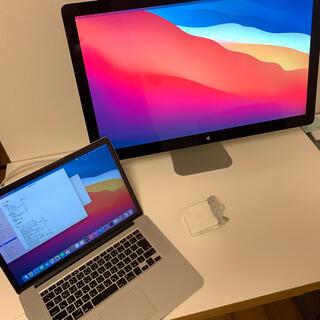 Mac (Apple) - MacBook Pro 15インチ  27インチ純正モニター