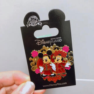 ディズニー(Disney)のディズニーピンバッジ❤︎(バッジ/ピンバッジ)