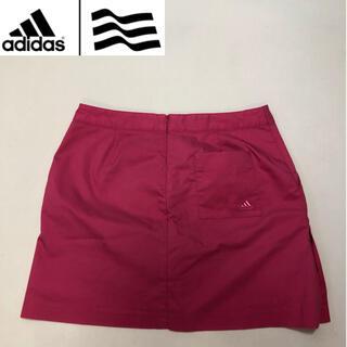 adidas - アディダスゴルフ パンツ スカート レッドピンク系  XLサイズ