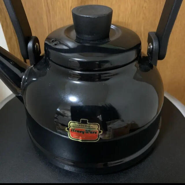 富士ホーロー(フジホーロー)のハニーウェア ケトル Ware インテリア/住まい/日用品のキッチン/食器(調理道具/製菓道具)の商品写真