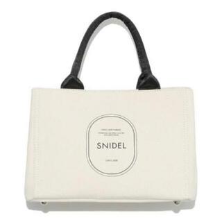 snidel - SNIDEL キャンバスバッグ 完売品