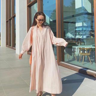 SeaRoomlynn - コットンwashシャツドレス【S/サクラ】