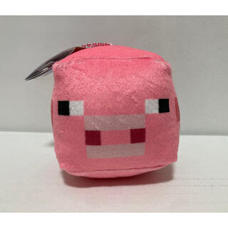 Minecraft キューブボールチェーンマスコット ブタ