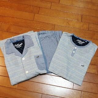 クロコダイル(Crocodile)のクロコダイルパジャマ3点セット Lサイズ(Tシャツ/カットソー(半袖/袖なし))