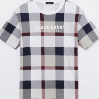 BLACK LABEL CRESTBRIDGE - クレストブリッジ チェックプリントロゴTシャツ