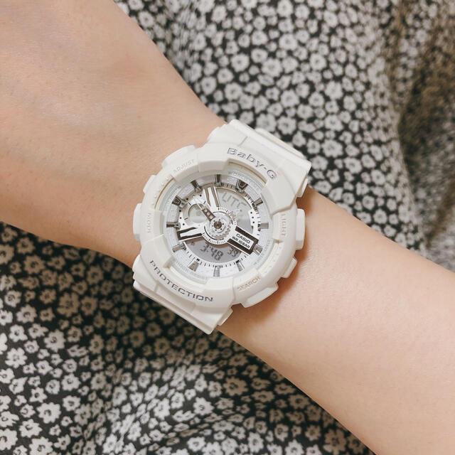 Baby-G(ベビージー)のBaby-G 腕時計 ホワイト レディースのファッション小物(腕時計)の商品写真