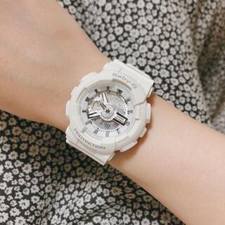 Baby-G - Baby-G 腕時計 ホワイト