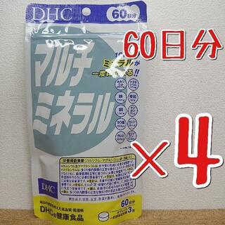 DHC - DHC マルチミネラル 60日分 ×4袋