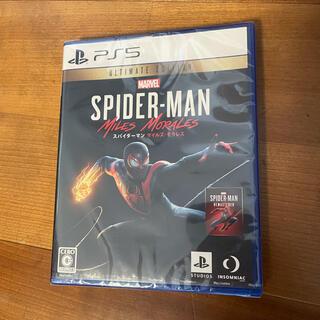 ソニー(SONY)の新品未開封 PS5 スパイダーマン マイルズモラレス(家庭用ゲームソフト)