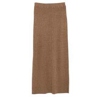 Noble - anuans リブニットタイトスカート