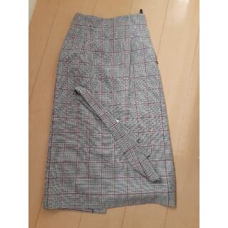 ビューティアンドユースユナイテッドアローズ(BEAUTY&YOUTH UNITED ARROWS)のUNITED ARROWSチェックスカート(ロングスカート)