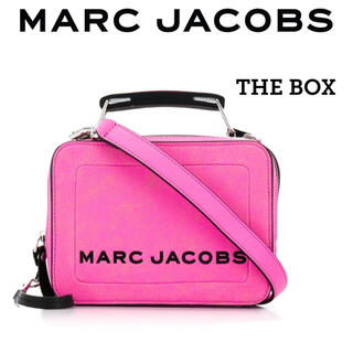 MARC JACOBS - 新品 定価5.3万 MARC JACOBS THE BOX 20 2wayバッグ