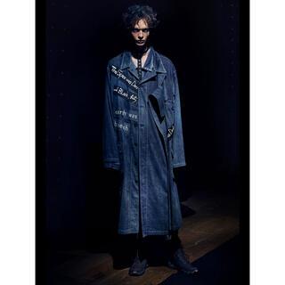 ヨウジヤマモト(Yohji Yamamoto)のyohji yamamoto 21ss マジックウォッシュデニムジャケット(Gジャン/デニムジャケット)