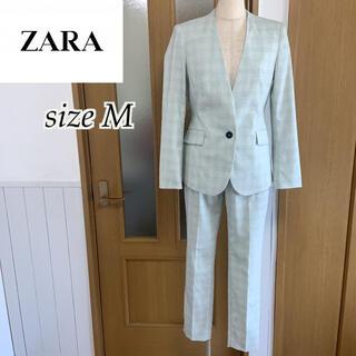 ZARA - ZARA ノーカラー スーツ セットアップ サイズM プラステ セオリー