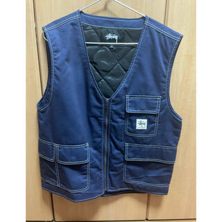 ステューシー(STUSSY)のStussy poly cotton work vest 21ss(ベスト)
