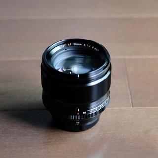 富士フイルム - Fujifilm XF56mm f1.2 r +レンズプロテクター