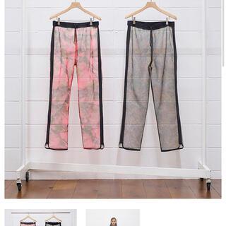UNUSED - unused zipp mesh pants 21ss