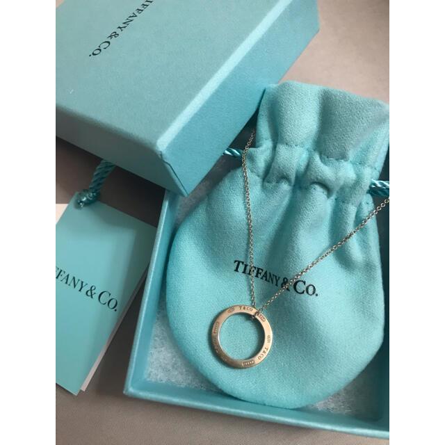 Tiffany & Co.(ティファニー)のティファニー ネックレス リング ペンダント シルバー レディースのアクセサリー(ネックレス)の商品写真