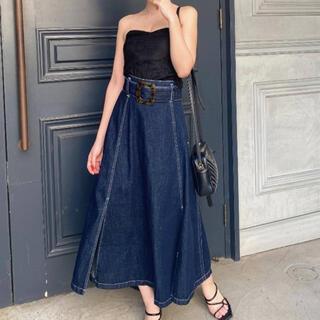 リゼクシー(RESEXXY)のresexxy アシメデザインスカート(ロングスカート)
