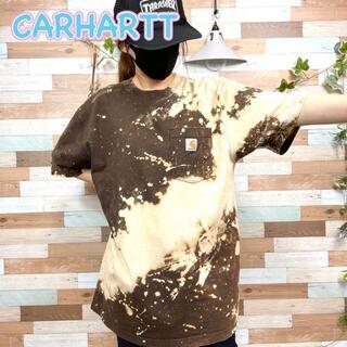 carhartt - 【着画】カーハート 天の川 ビッグシルエット ブリーチTシャツ No.S45