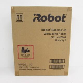 iRobot - ルンバ e5 ロボット掃除機 アイロボット 水洗い WiFi対応 e515060