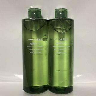 MUJI (無印良品) - ◆新品未開封◆ 無印良品ハーバル化粧水 高保湿タイプ/400ml/【2本セット】
