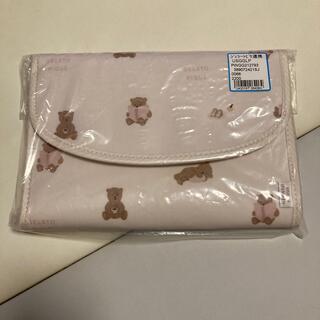 gelato pique - 新品 ジェラートピケ 母子手帳ケース ピンク くま ベア