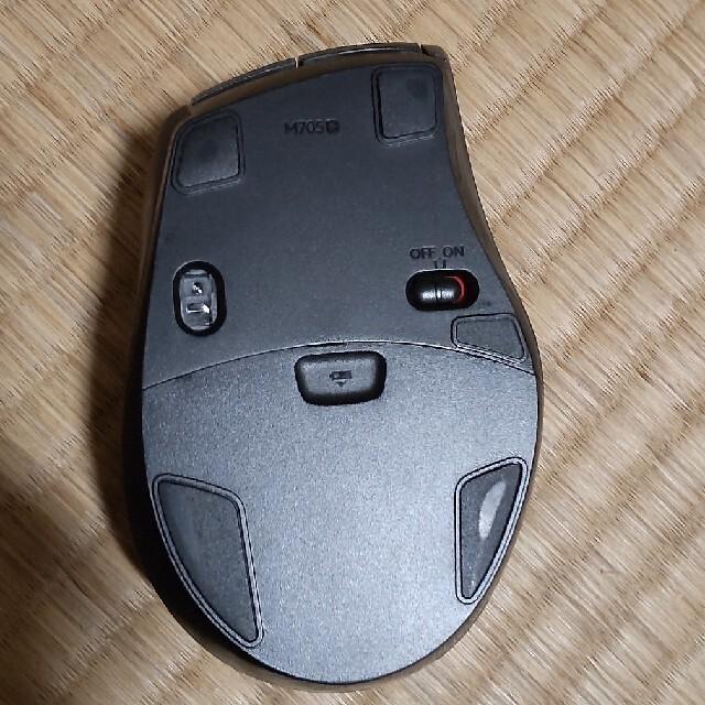 ロジクール ワイヤレスマウス M705 スマホ/家電/カメラのPC/タブレット(PC周辺機器)の商品写真