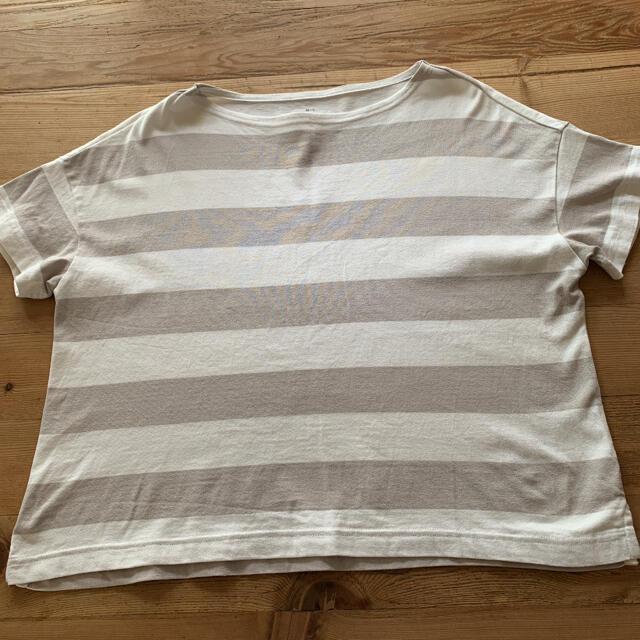 MUJI (無印良品)(ムジルシリョウヒン)のボーダー Tシャツ無印良品 メンズのトップス(Tシャツ/カットソー(半袖/袖なし))の商品写真