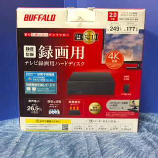 Buffalo - BUFFALO HD-LDS2.0U3-BA  外付けHDD