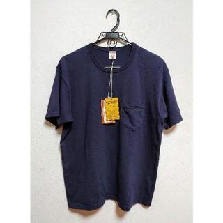 FREEWHEELERS - 44 サイズ フリーホイーラーズ  ポケット Tシャツ オールドネイビー