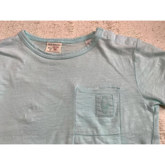 ZARA(ザラ)のZara Baby Tシャツ 12/18ヶ月 86 キッズ/ベビー/マタニティのベビー服(~85cm)(Tシャツ)の商品写真