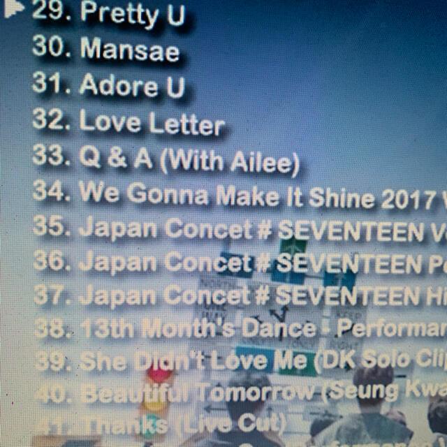 SEVENTEEN(セブンティーン)のSEVENTEEN 2021  BEST PV COLLECTION DVD エンタメ/ホビーのDVD/ブルーレイ(ミュージック)の商品写真