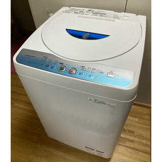 SHARP - 愛知県名古屋市内近郊限定送料設置無料/シャープ洗濯機5.5Kg