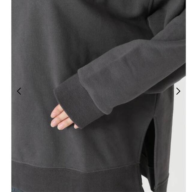 IENA SLOBE(イエナスローブ)の専用 微起毛裏毛プルオーバー(グレー】 レディースのトップス(トレーナー/スウェット)の商品写真