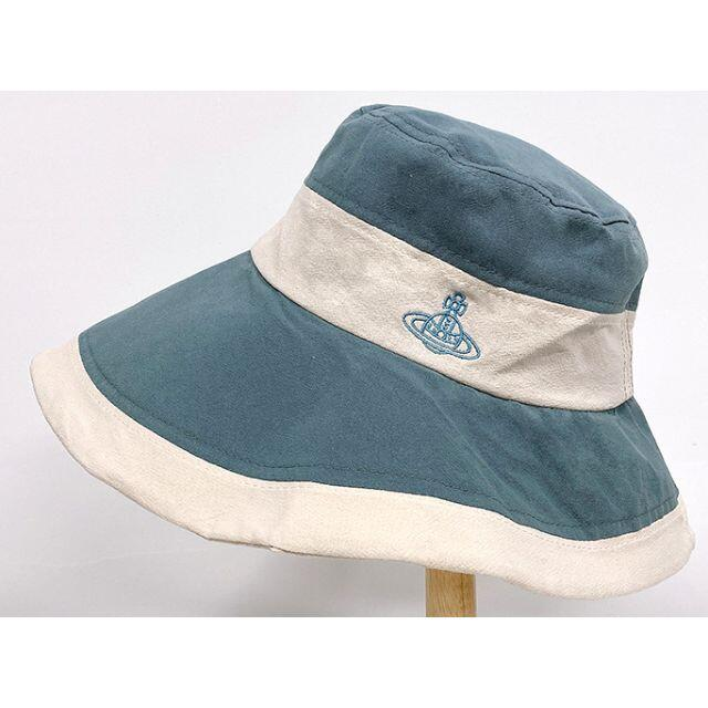 Vivienne Westwood(ヴィヴィアンウエストウッド)の新品未使用 ヴィヴィアンウエストウッド UVカット ハット レディースの帽子(ハット)の商品写真