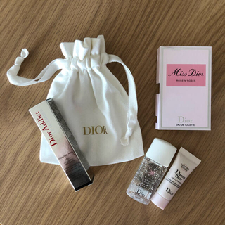 ディオール(Dior)のDior アディクト リップ マキシマイザー 001 ピンク サンプルセット(リップグロス)