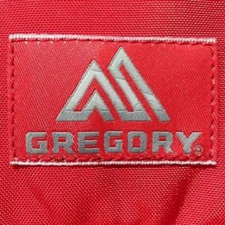 Gregory - 未使用✧グレゴリー ティーニー メッセンジャー/ショルダーバッグ オールレッド赤