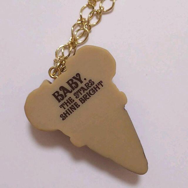 BABY,THE STARS SHINE BRIGHT(ベイビーザスターズシャインブライト)のBABY★くみゃちゃんのIce Cream★ヘアピン★ネックレス★くまくみゃ レディースのアクセサリー(ネックレス)の商品写真