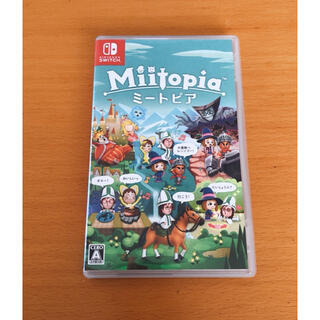 Nintendo Switch - Nintendo Switch ミートピア ソフト