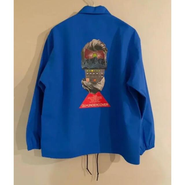 GU(ジーユー)のGU×UNDERCOVER コーチジャケット BLUE L メンズのジャケット/アウター(ナイロンジャケット)の商品写真